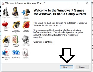 install-win7-games