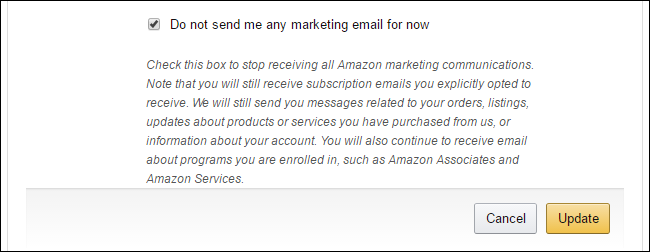 How to Stop Amazon's Email, Text, or Smartphone App Notifications